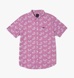 RVCA EASY PALMS BUTTON UP SS