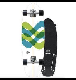 "CARVER SKATEBOARDS TRITON X CARVER 31"" SIGNAL SURFSKATE COMPLETE"