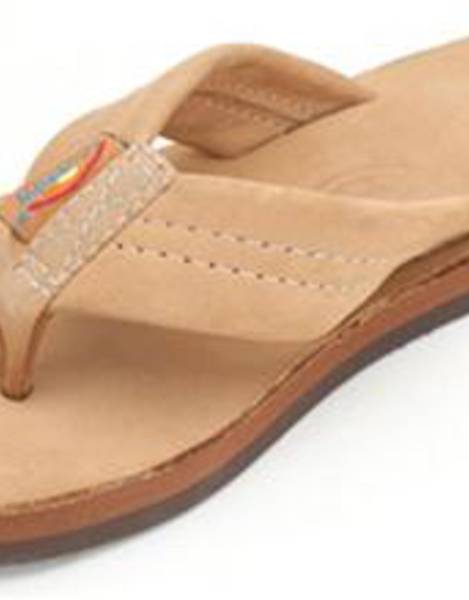 Rainbow Sandals KIDS PREMIER LEATHER SIERRA BROWN