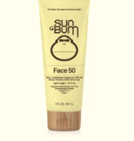 SUN BUM SB FACE LOTION SPF 50 3 OZ