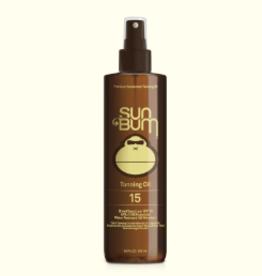 SUN BUM SB SPF 15 TANNING OIL