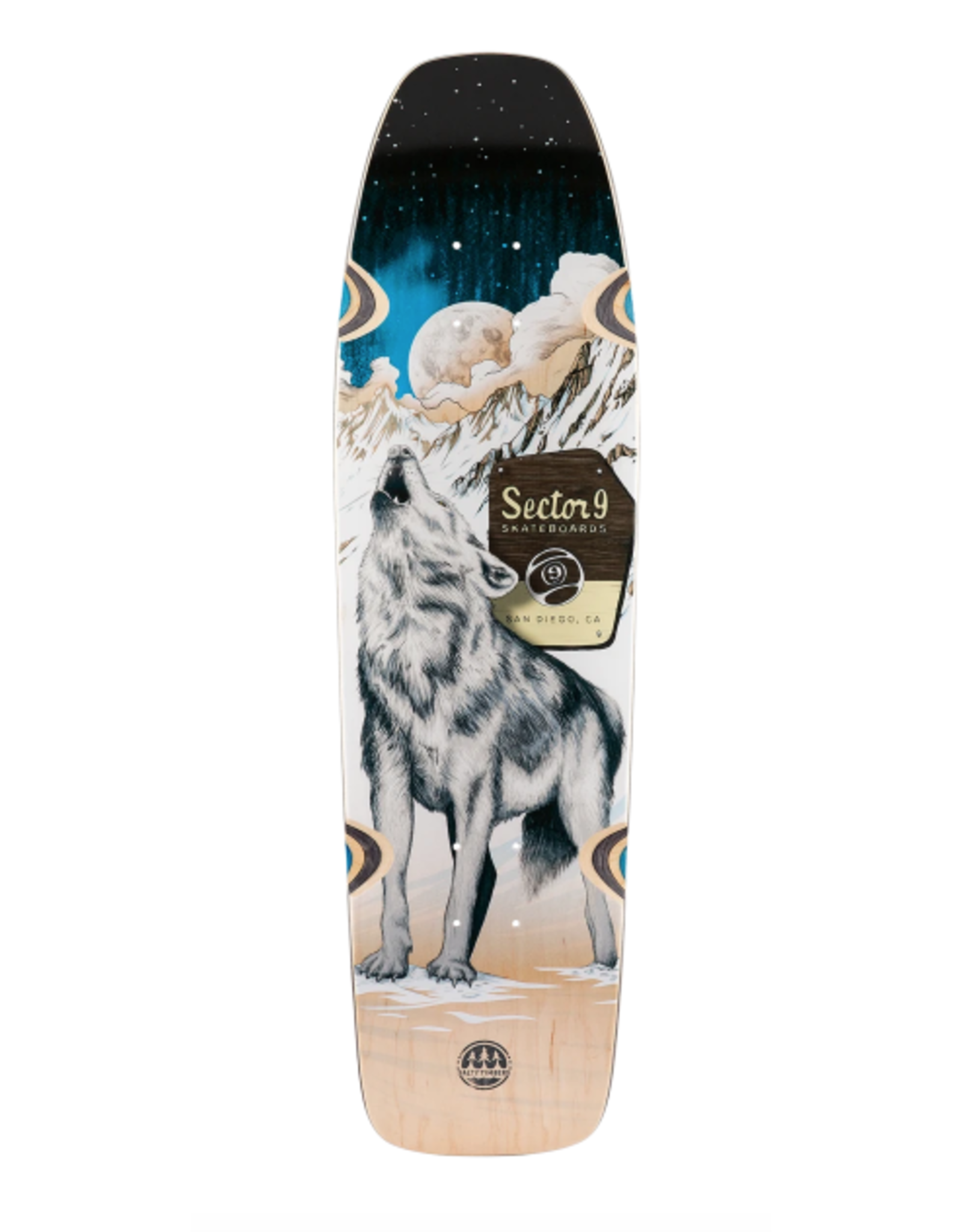 """SECTOR 9 HOWL NINETY FIVE DECK 30.5"""" X 8.375"""""""