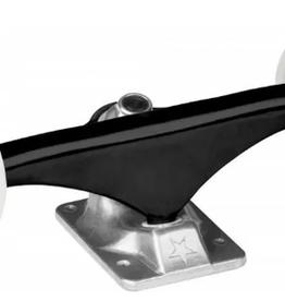 MINI LOGO Mini Logo -Truck Assembly 8.0 black/raw, white wheels 53mm 101a MINI LOGO