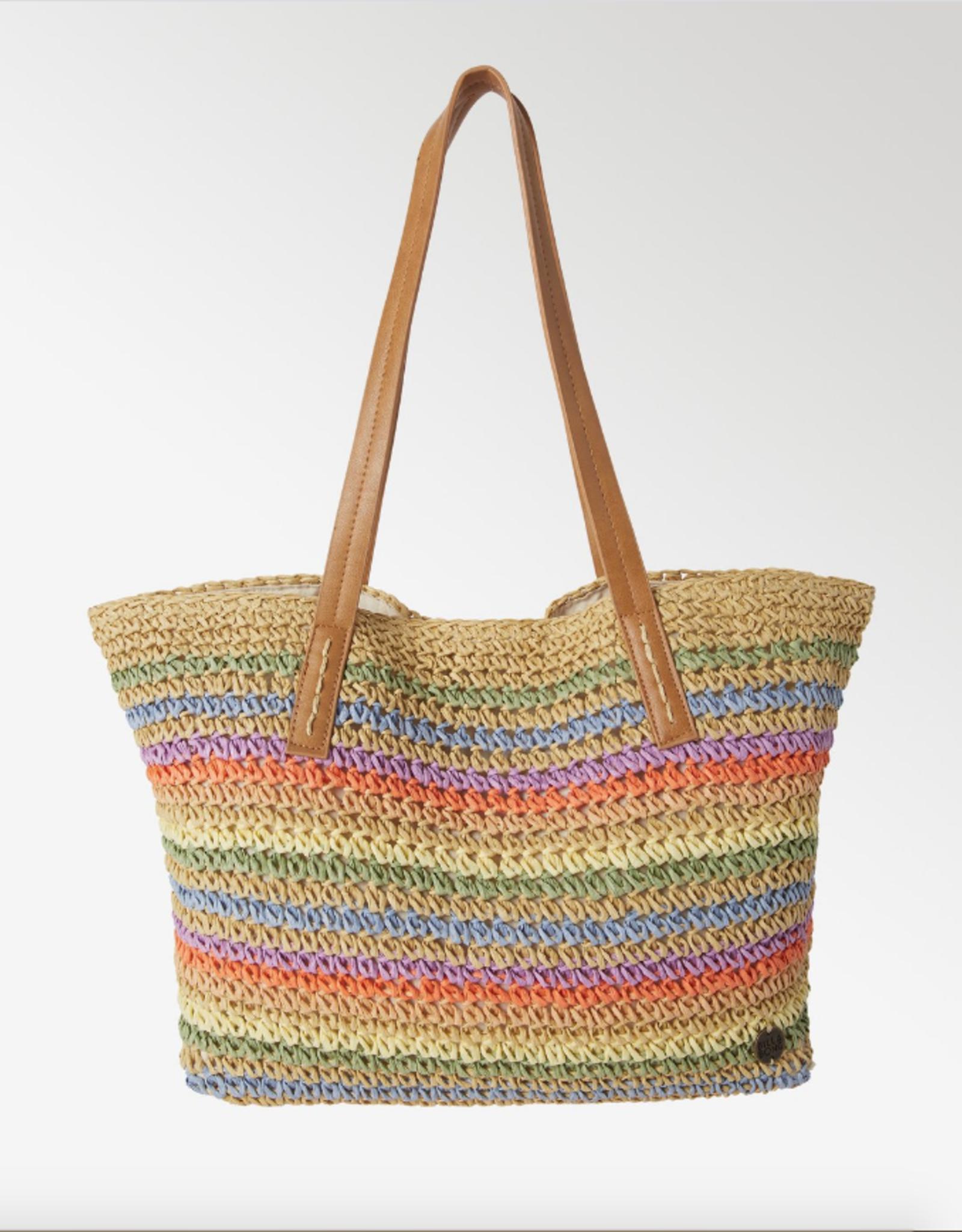 BILLABONG Good Lookin Straw Tote Bag