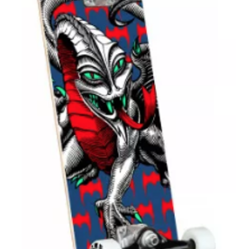 SKATE ONE Powell Peralta Cab Dragon One Off Navy Complete Skateboard Birch - 7.5 x 28.65