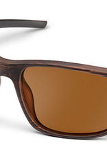 SUNCLOUD RESPEK SUNGLASSES BURNISHED BROWN/ POLARIZED BROWN
