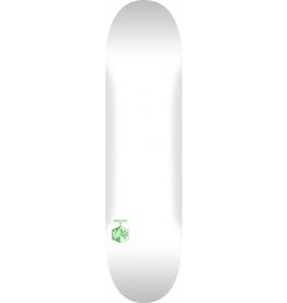 "MINI LOGO MINI LOGO DETONATOR ""15"" SKATEBOARD DECK 243 K20 SOLID WHITE - 8.25 x 31.95"