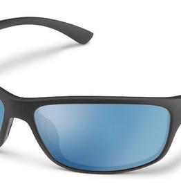 SunCloud SC SENTRY - MATTE BLACK POLARIZED BLUE MIRROR