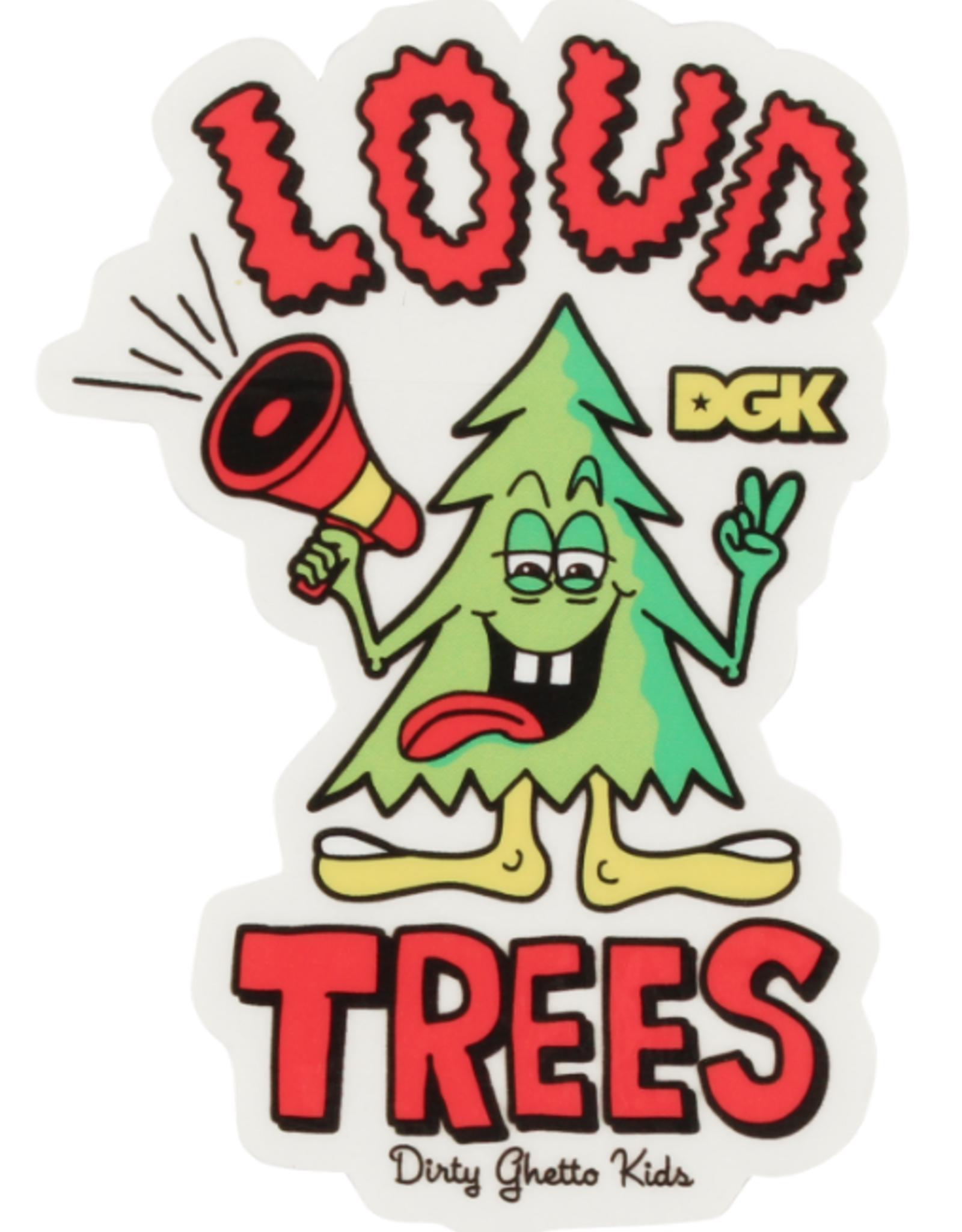 DGK DGK LOUD TREES STICKER