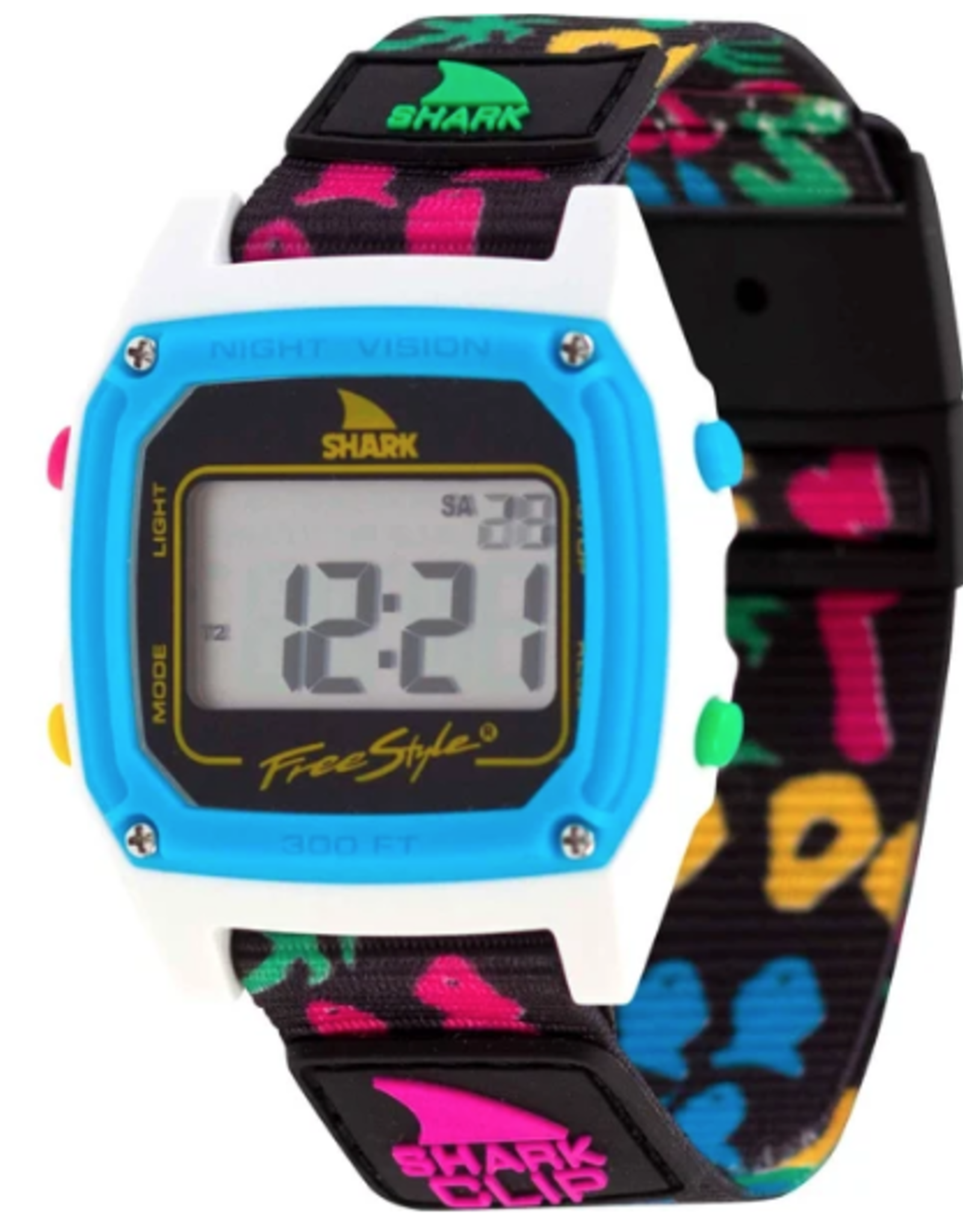 FREESTYLE FREESTYLE SHARK CLASSIC CLIP BEACH BASH WATCH