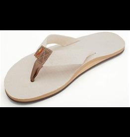Rainbow Sandals MENS RAINBOW HEMP TOP SOLE AND STRAP NATURAL