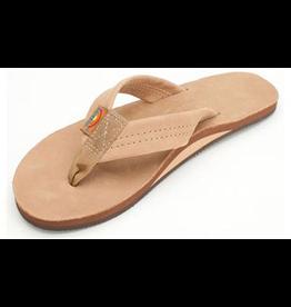 Rainbow Sandals LADIES SIERRA BROWN PREMIER LEATHER SINGLE
