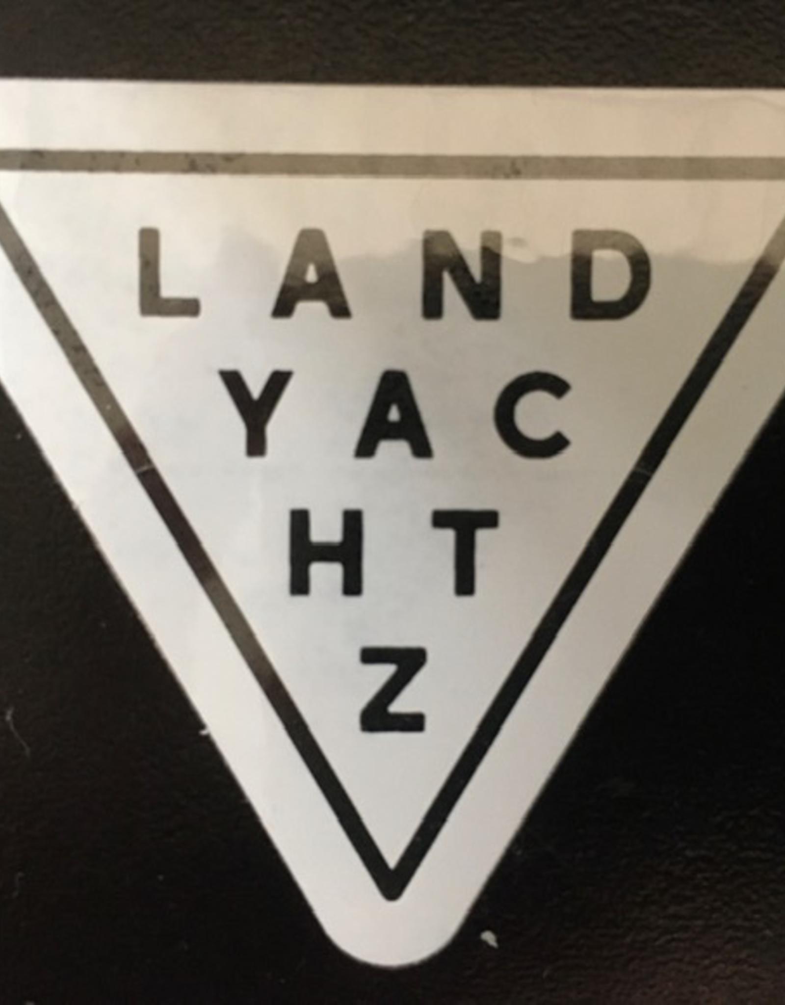 LANDYACHTZ LANDYACHTZ CLEAR TRIANGLE STICKER