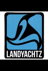 LANDYACHTZ LANDYACHTZ BLUE LOGO STICKER