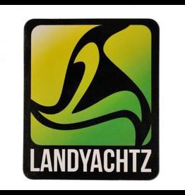 LANDYACHTZ LANDYACHTZ GREEN LOGO STICKER