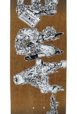 CREATURE CREATURE HITZ LARB SLED DECK-8.75X32.5 ASST. ltd