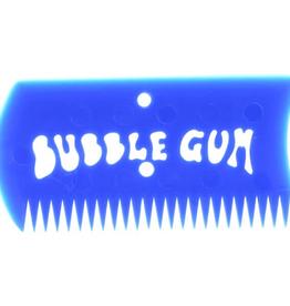 BUBBLE GUM BUBBLE GUM WAX COMB W/BOX BLUE