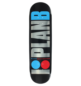 """PLAN B Plan B OG Foil Skateboard Deck - 8.25"""""""