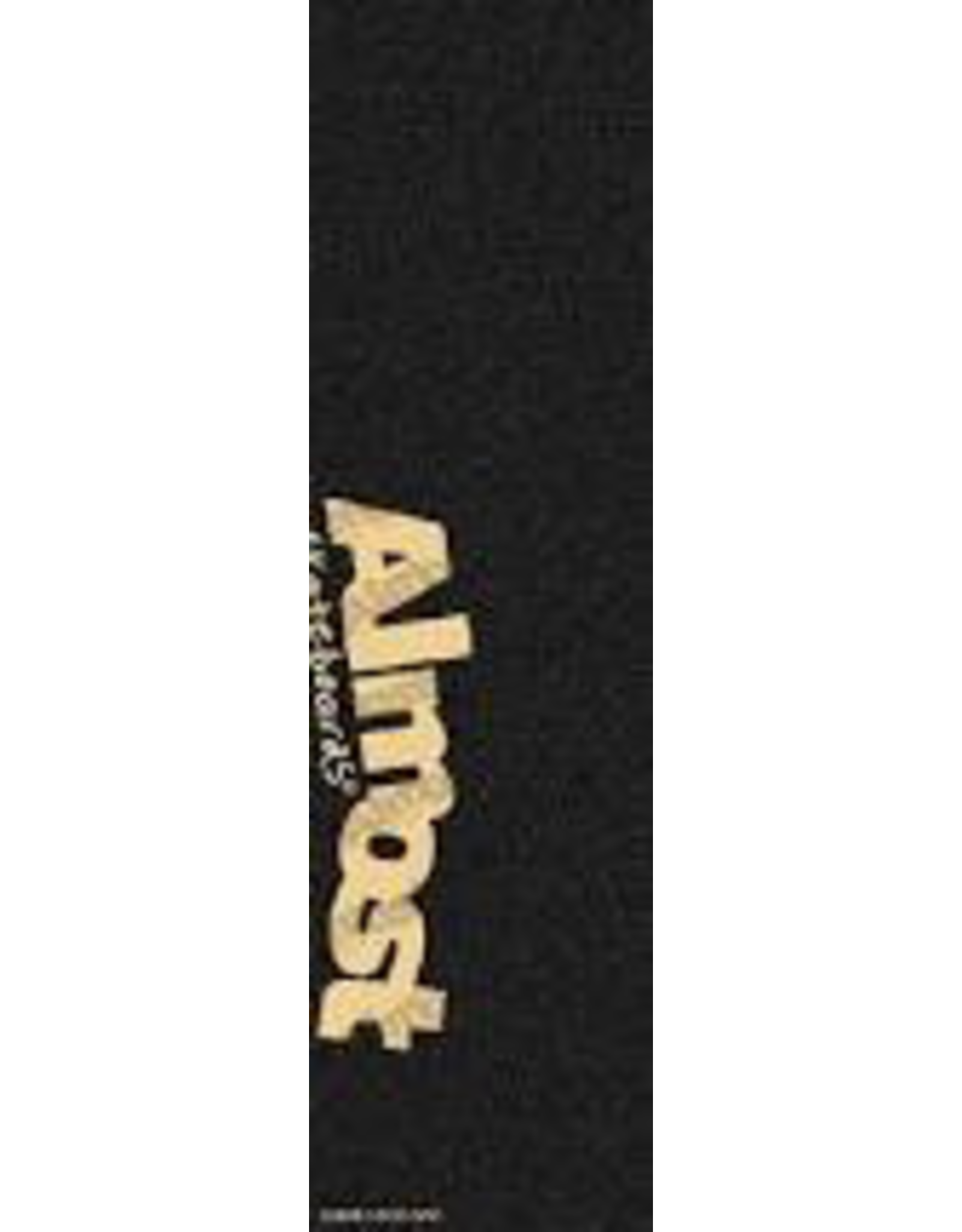 ALMOST ALMOST CLEAR LOGO GRAPHIC SKATEBOARD GRIP TAPE