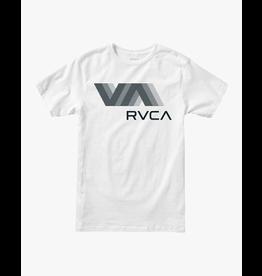 VA RVCA BLUR SHORT SLEEVE PERFORMANCE TEE