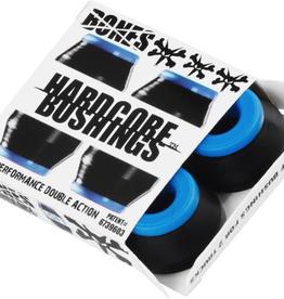 BONES BONES HARDCORE 4PC SOFT BLACK/BLUE BUSHINGS