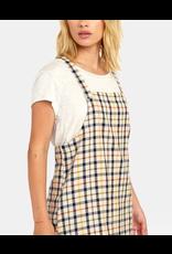 RVCA ALLEN PLAID DRESS
