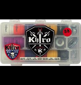KHIRO KHIRO T-CONE/L-BARREL COMBO BUSHINGS COMPLETE KIT