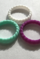 Humannature HUMAN NATURE SILICONE RING 3 PACK