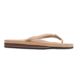 """Rainbow Sandals RAINBOW Double Layer Arch Support Premier Leather with a 1/2"""" Narrow Strap"""