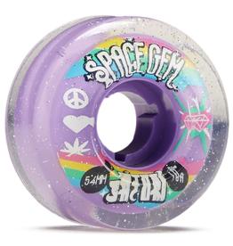 SATORI Satori Movement Space Gem Clear Skateboard Wheels - 54mm 78a (Set of 4)