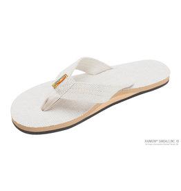 Rainbow Sandals RAINBOW  XL LADIES NATUARL HEMP ARCH SUPPORT SINGLE STRAP