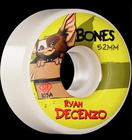 BONES BONES PRO SERIES 103A STREET TECH FORMULA, DECENZO GIZZMO V2 LOCKS (SET OF 4 WHEELS)