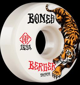 BONES BONES PRO SERIES 103A STREET TECH FORMULA, BERGER THE HUNTER 54MM V3 SLIMS (SET OF 4 WHEELS)
