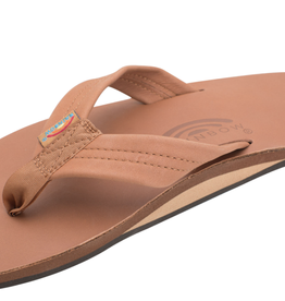 Rainbow Sandals MENS CLASSIC LEATHER SINGLE LAYER TAN