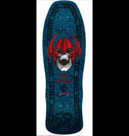 POWELL PERALTA Powell Peralta Welinder Nordic Skull Skateboard Deck Blue - 9.625 x 29.75