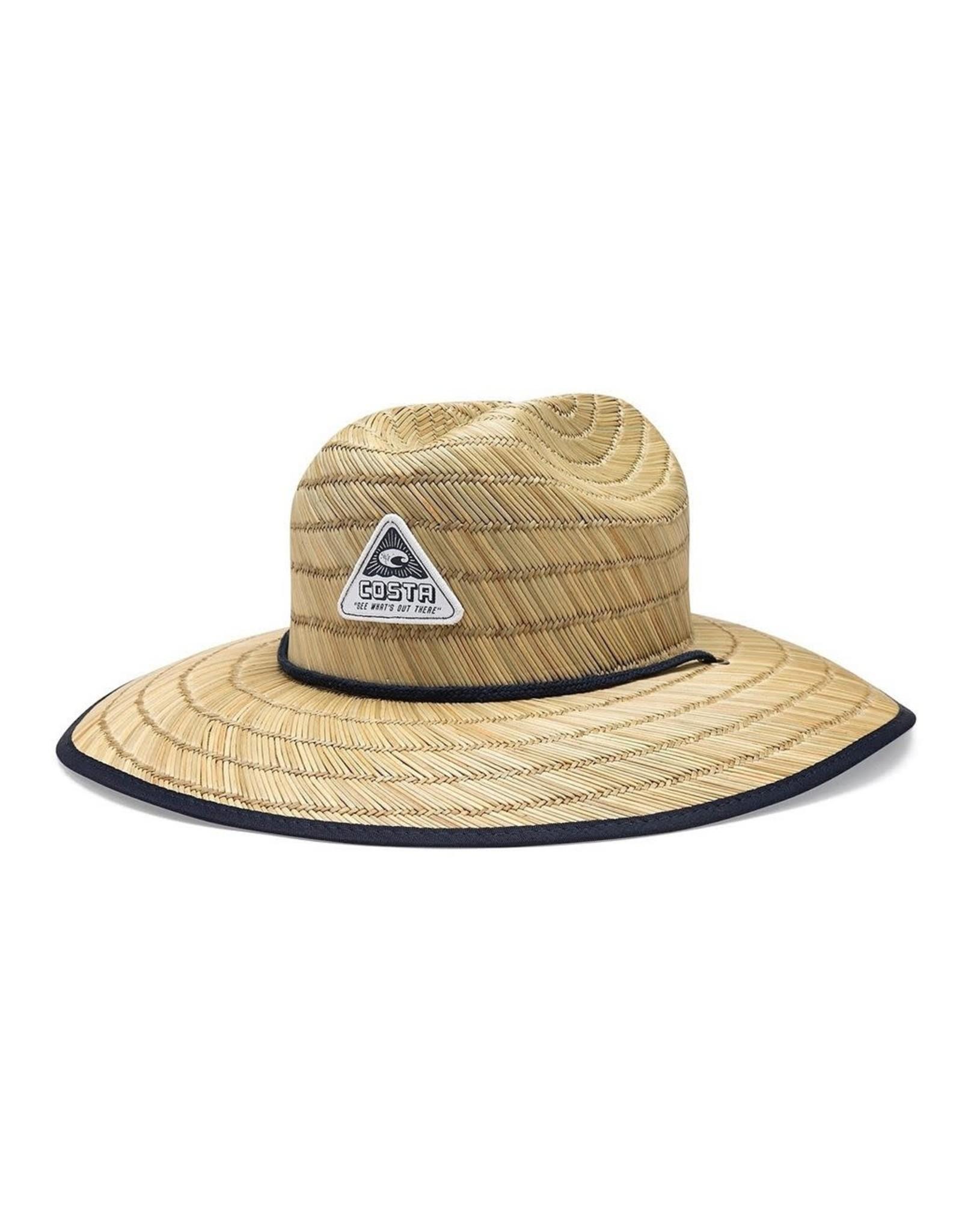 COSTA COSTA SWELLS STRAW LIFEGUARD HAT
