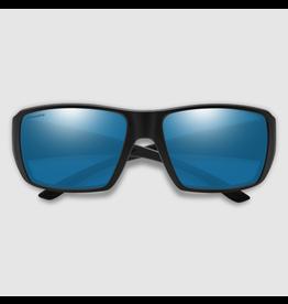 SMITH OPTICS SMITH GUIDES CHOICE XL MATTE BLACK/CHROMAPOP GLASS POLARIZED BLUE MIRROR