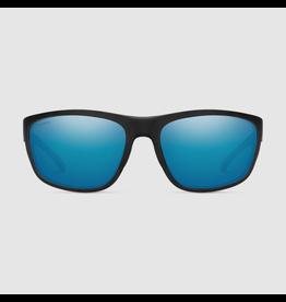 SMITH OPTICS SMITH REDDING MATTE BLACK/CHROMAPOP GLASS POLARIZED BLUE MIRROR