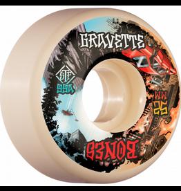 BONES BONES WHEELS PRO STF Skateboard Wheels Gravette Heaven & Hell 52mm V2 Locks 99a 4pk