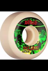 BONES BONES WHEELS PRO STF Skateboard Wheels McClain Apocalypse 55mm V5 Sidecut 99a 4pk