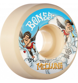 BONES BONES WHEELS PRO STF Skateboard Wheels Trevor McClung McCherubs 54mm V1 Standard 99A 4pk
