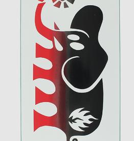 Black Label BLACK LABEL BLL ELEPHANT FADE DECK-8.5 WHT/BLK/RED
