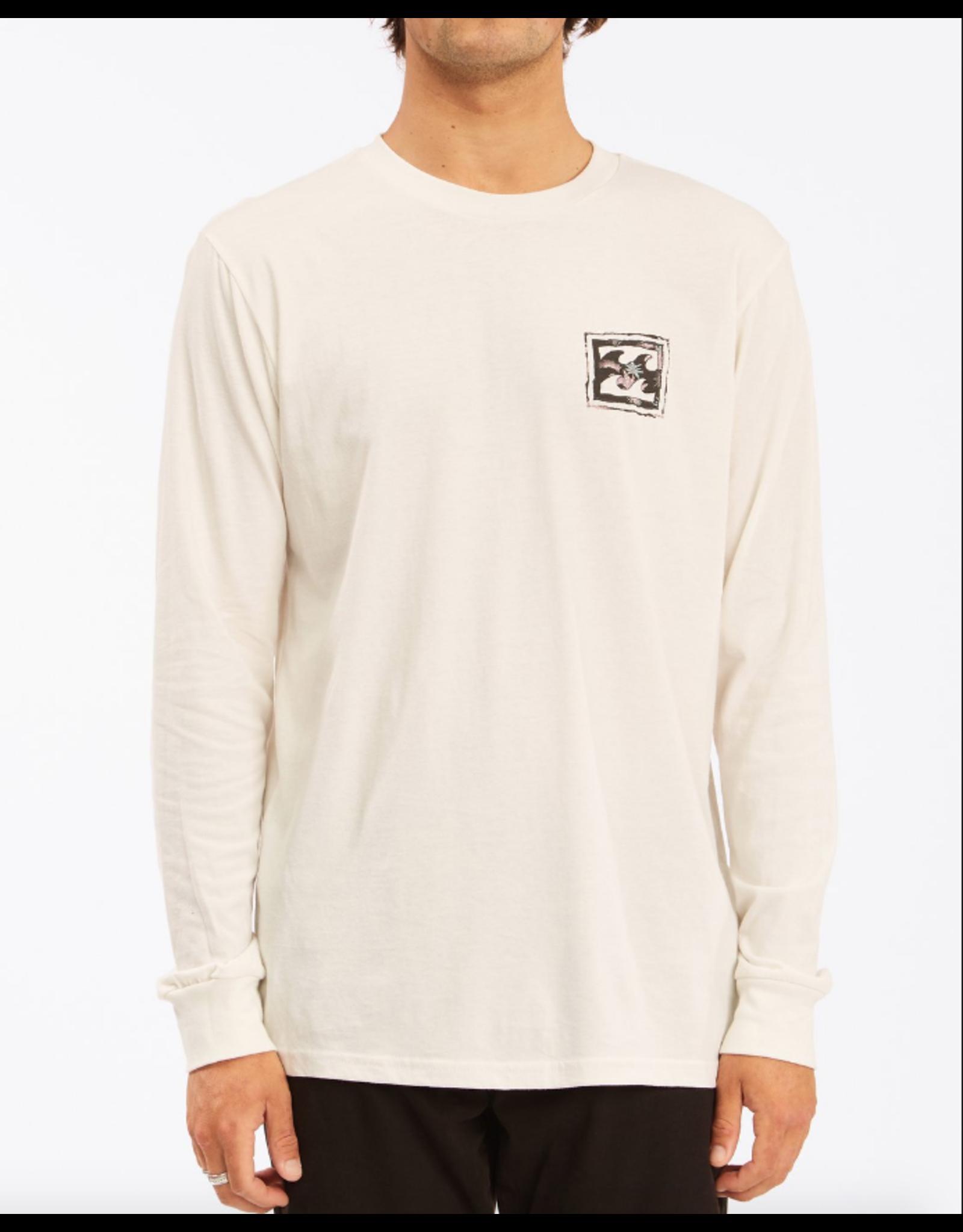 Billabong Guys Crayon Wave Long Sleeve T-Shirt