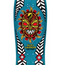 POWELL PERALTA Powell Peralta Nicky Guerrero Mask Skateboard Deck Blue - 10 X 31.75