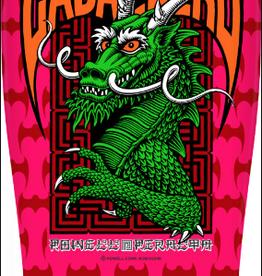 POWELL PERALTA Powell Peralta Pro Steve Caballero Street Skateboard Deck Hot Pink - 9.625 x 29.75