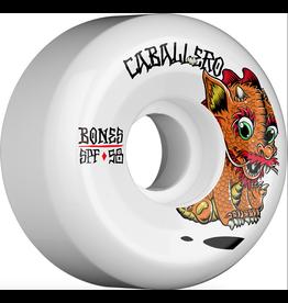 BONES BONES WHEELS SPF Pro Caballero Baby Dragon Skateboard Wheels P5 Sidecut 58mm 84B 4pk White