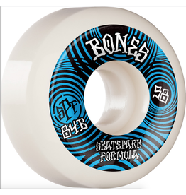 BONES BONES WHEELS SPF Skateboard Wheels Ripples 58mm P5 Sidecut 84B 4pk White