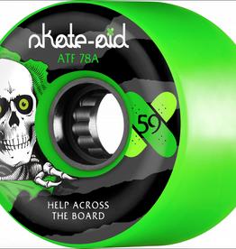 POWELL PERALTA Powell Peralta Skate Aid Collabo Skateboard Wheels 59mm (4pack)