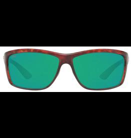 COSTA DEL MAR Mag Bay Green Mirror 580P Tortoise Frame