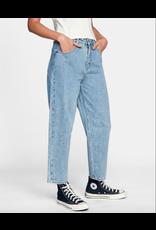 RVCA Girls DAISY HIGH-RISE DENIM PANTS